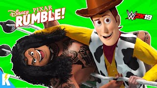 TOY STORY 4 Movie RUMBLE + DISNEY PIXAR CHARACTERS! | KIDCITY GAMING