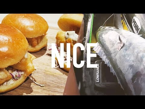 Catch and cook - Beer Battered Spanish Mackerel Fish Burgers