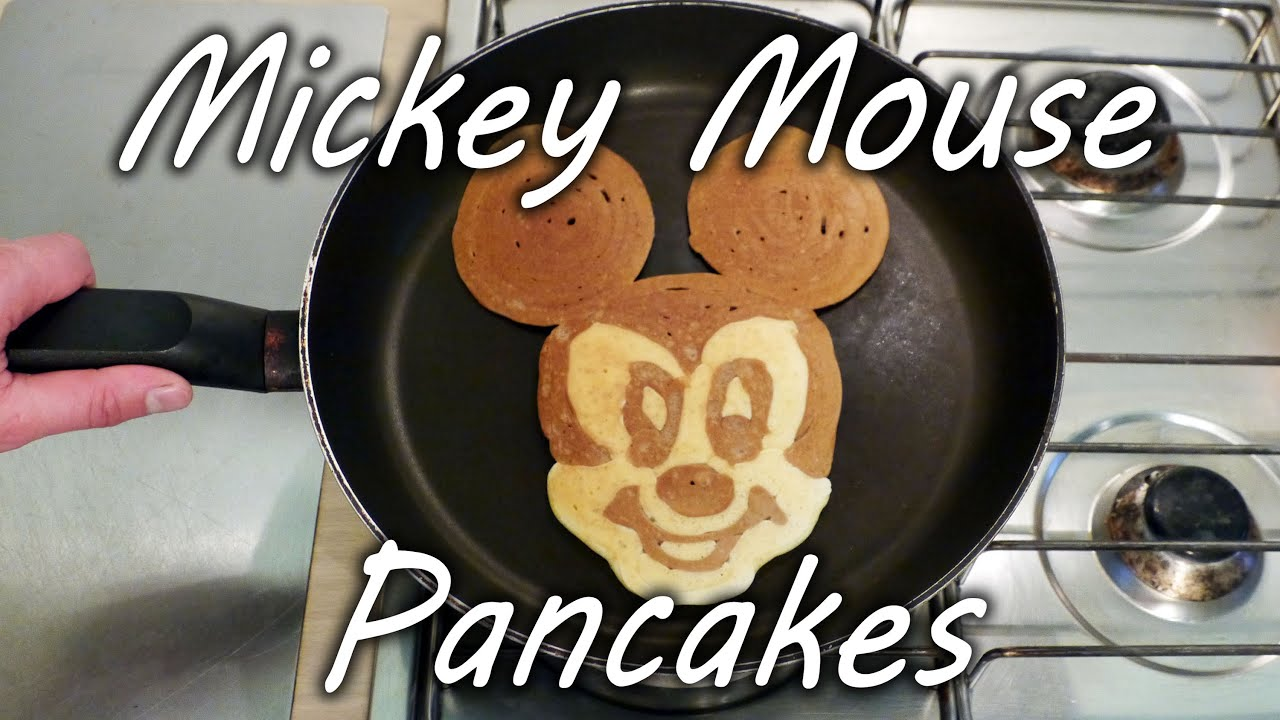 How to make mickey mouse pancakes youtube how to make mickey mouse pancakes ccuart Images