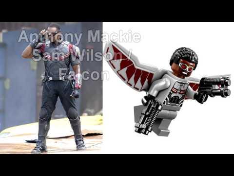 ▶  Lego Actor Minifigures : Captain America : Civil War