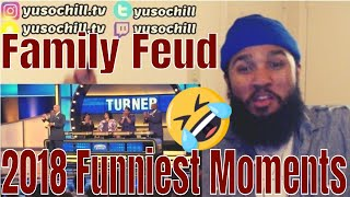 Family Feud Funniest Moments 2018 | Reaction