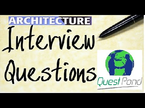 Architecture Interview Questions