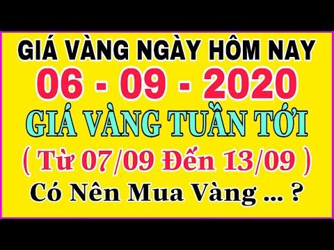 giá vàng 9999 hôm nay 6/9/2020 bao nhiêu một chỉ ? | giá VÀNG SJC 9999 Hôm Nay Đà Giảm Có Duy Trì  ?