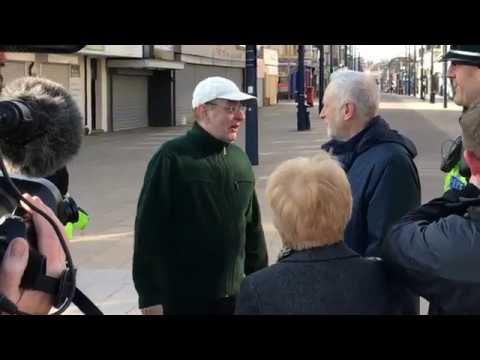 Jeremy Corbyn talks Police funding in Great Yarmouth