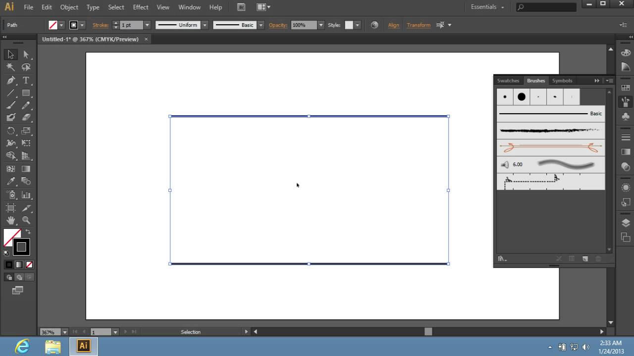 how to create a pattern in illustrator cs6