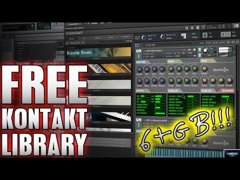 Free Kontakt Library | SHORTNOISE (6+GB Library!) 🔥