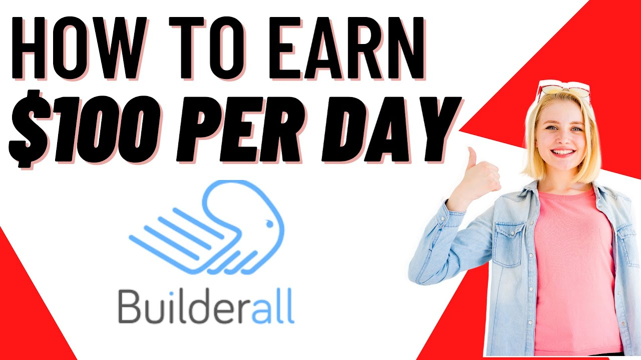 Builderall Affiliate Program Review - How To Earn $100 Per Day