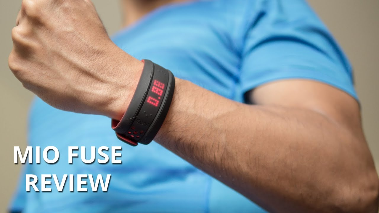 Mio Fuse Review Heart Rate, Sleep + Activity Tracker