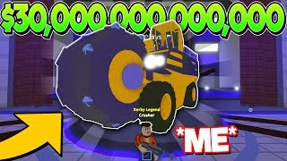 i-spent-30-trillion-on-the-biggest-vehicle-in-car-crushers-2-roblox