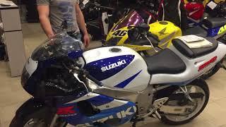 Обзор suzuki GSX 600R  SRAD