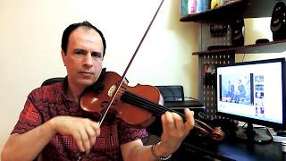 أسرار الكمان 6 الفيبراتو