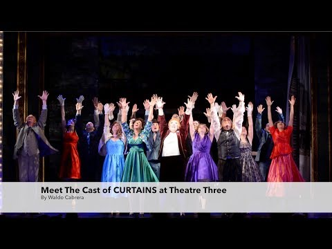 Meet the Cast of Curtains at Theatre Three