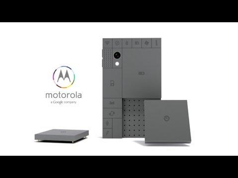 The Forever Phone: Motorola and Phonebloks (Project Ara)
