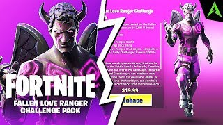 The new Pack * FALLEN LOVE RANGER * in Fortnite..