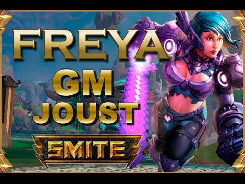 SMITE! Freya, Cuanto tiempo atras desde este pick! GM Joust #25