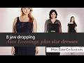 8 jaw dropping Alex Evenings  plus size dresses Plus Size Collection