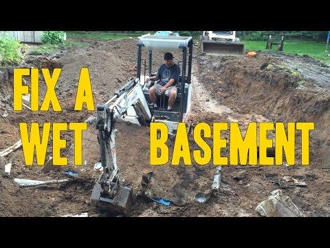 How To fix A Wet Basement