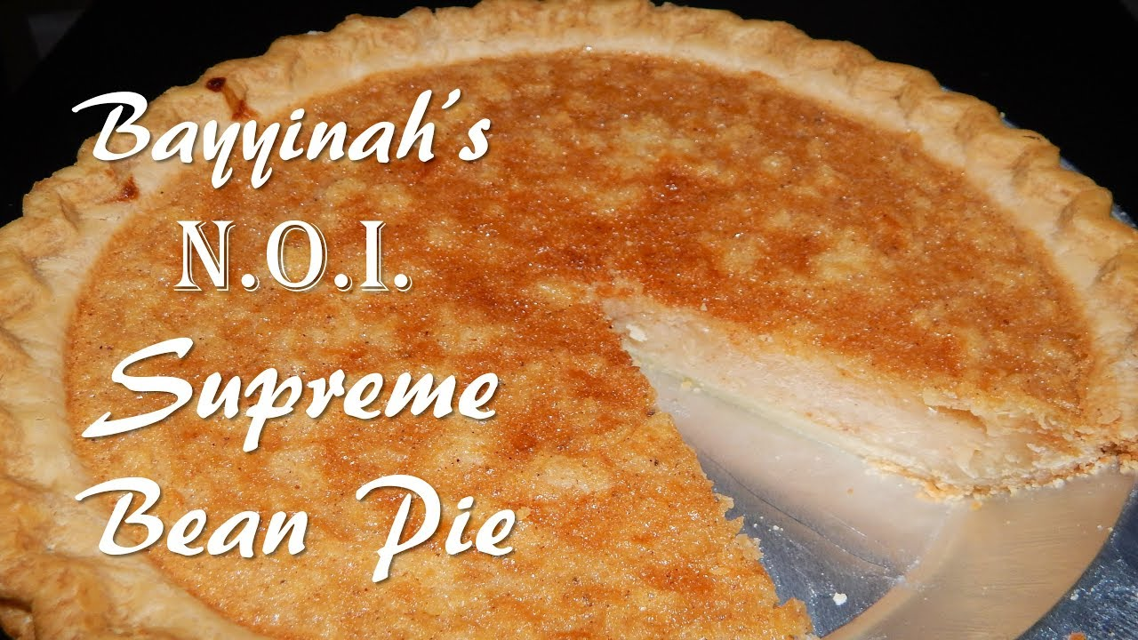 Supreme Bean Pie (Gimme that Recipe!)