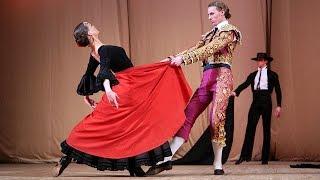 """Одноактный балет """"Испанская баллада"""". ГААНТ имени Игоря Моисеева."""