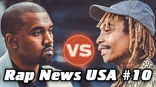 RapNews USA #10 [Kanye West VS Wiz Khalifa]