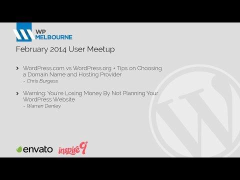 WordPress Melbourne February 2014 User Meetup