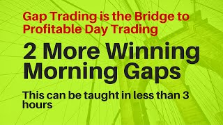 Morning Gap Trading is the bridge to profitable day trading