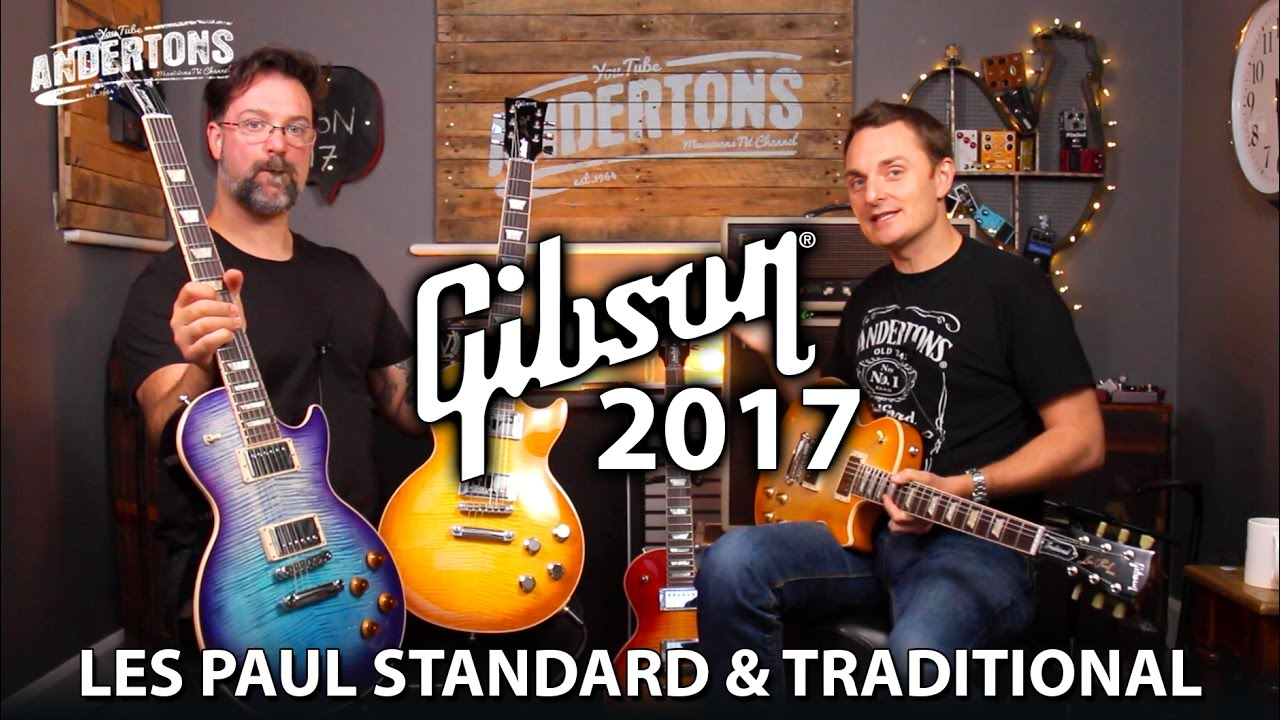 gibson 2017 les paul shoot out standard vs traditional youtube. Black Bedroom Furniture Sets. Home Design Ideas