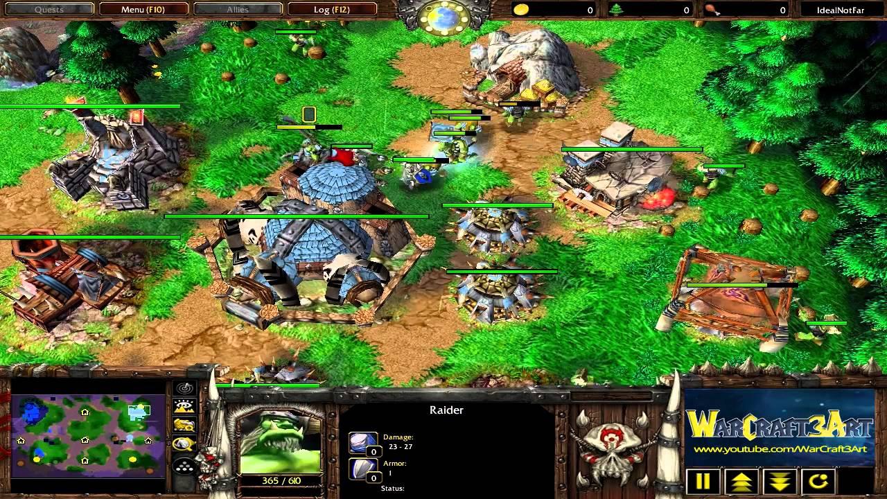 Susu Orc Vs Xiaokai Ud Game 1 Warcraft 3 Frozen Throne Rn2017 Youtube