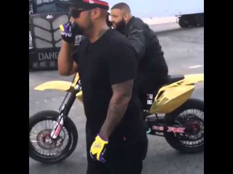 Dj Khaled Riding Meek Mill Bike Youtube