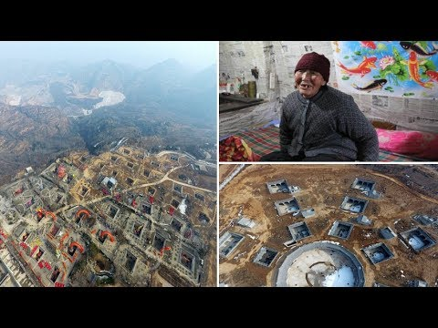 China's 4000 years old Mysterious 'Mole Town' where Residents still Live in Underground Houses