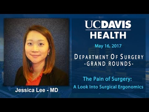 The Pain Of Surgery: A Look Into Surgical Ergonomics - Jessica Lee, M.D.