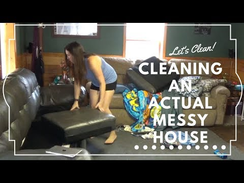 Cleaning an ACTUAL messy house! Again!