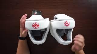 обзор закрытого шлема для карате киокушинкай
