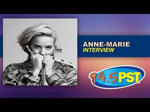 Anne-Marie Interview
