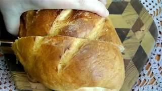 """Белый хлеб. Батон """"Нарезной"""" по ГОСТу . Как раньше за 25 копеек."""