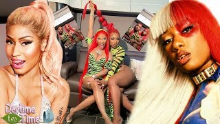 Nicki Minaj & Megan Thee Stallion ON SET of NEW 'Hot Girl Summer' music video + plans for 2nd SONG!