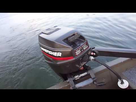 Gamefisher 9.9 HP, Lake Test.