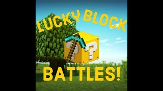 *LUCKY BLOCK BATTLES!* Minecraft modded gameplay clickbait title!
