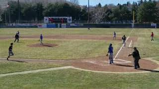 Luke Martin junior year school baseball