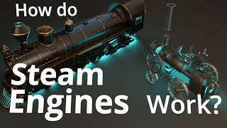 How can steam drive this MASSIVE locomotive?