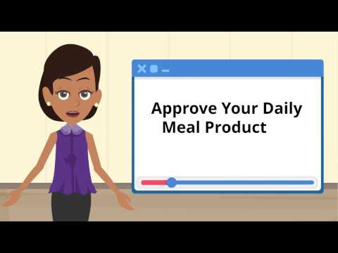 4) Approving Daily Meal Production Records (Lunchbox)