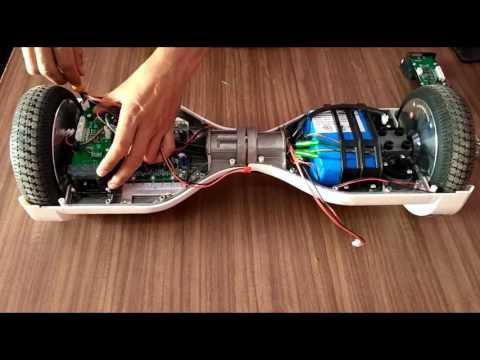 (Disassembling) What's Inside Hoverboard
