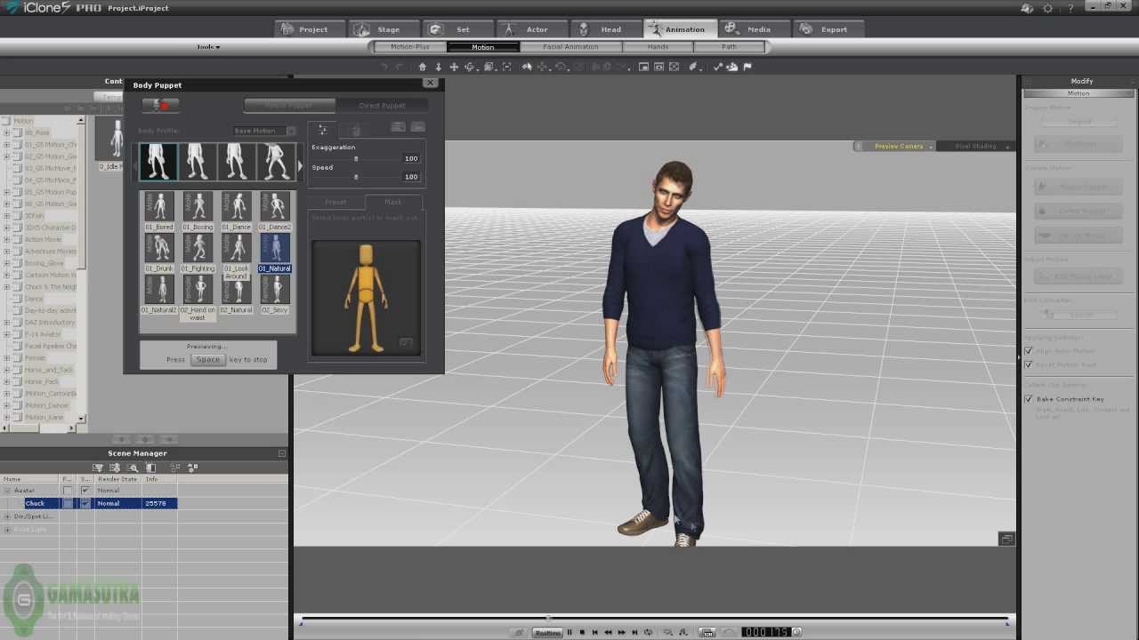 Character Design Unity : Animated iclone character import to unity d youtube