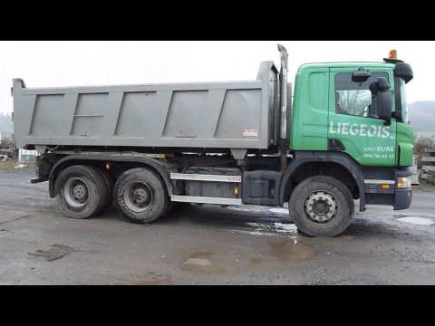 Camion Bi-Benne 6X4 Scania P420 2-Way 6X4 Tipper Truck (2005, 178.000 km)