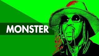 """MONSTER"" Trap Beat Instrumental 2018 | Dope Lit Hard Rap Hiphop Freestyle Trap Type Beats | Free DL"