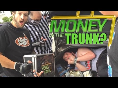 KIDNAPPING MITB CASH IN?? FATAL 5 WAY GTS CHAMPIONSHIP WRESTLING MATCH!