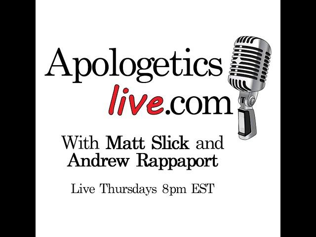 Apologetics Live Q&A 3/28/2019