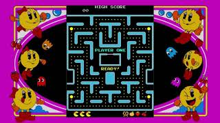 Mrs Pac Man Speed Run Level 4.
