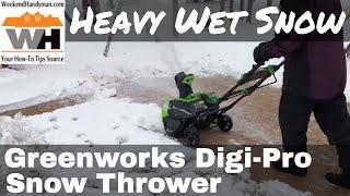 Review: GreenWorks Digi-Pro GMAX 40V - 20