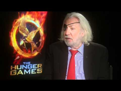 Donald Sutherland talks 'The Hunger Games' and politics